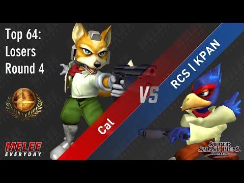 Aegis - Cal (Fox) vs. RCS   KPAN (Falco) - SSBM - Top 64 - Losers R4 - Best of 3