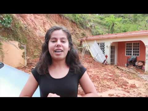 Apoyo a estudiantes de Jayuya tras paso del Huracán María