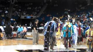 Native American Night at the Tulsa Shock Game 7/19/2013
