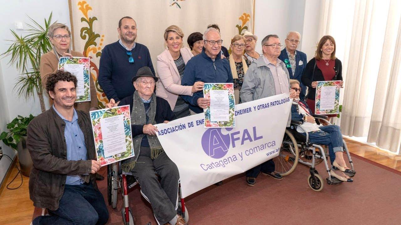 AFAL organiza una cena solidaria a beneficio de las personas con Alzheimer | Ayuntamiento de Cartagena