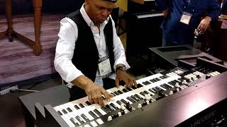 Ronnie Foster demo at Namm Show 2018