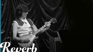 """Jeff Beck """"Beck's Bolero"""" Intro Riff on Guitar 