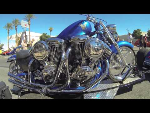 Harley Chopper with 4 engines