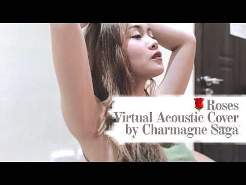 """🌹""""roses""""--chainsmokers-(ft.-rozes)-virtual-acoustic-cover-by-charmagne-saga"""