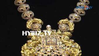 Uncut diamond necklace   Sri Jagadamba Pearls And jewellers   hybiz