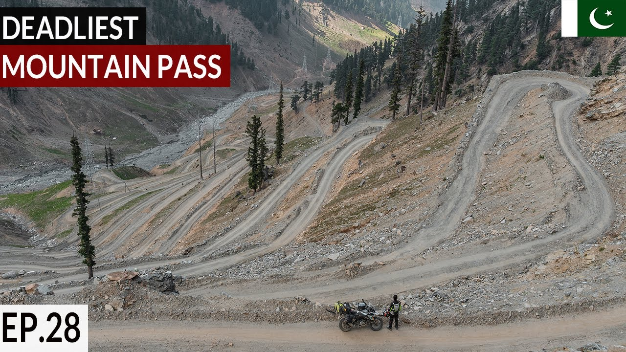 CROSSING SOLO THE DEADLY LOWARI TOP PASS S02 EP. 28  | Pakistan Motorcycle Tour