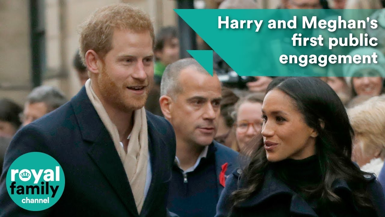 Prince Harry And Meghan Markles First Public Engagement