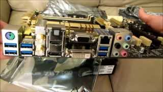 aSUS Z87-PRO MOTHERBOARD - Standard Unboxing & review