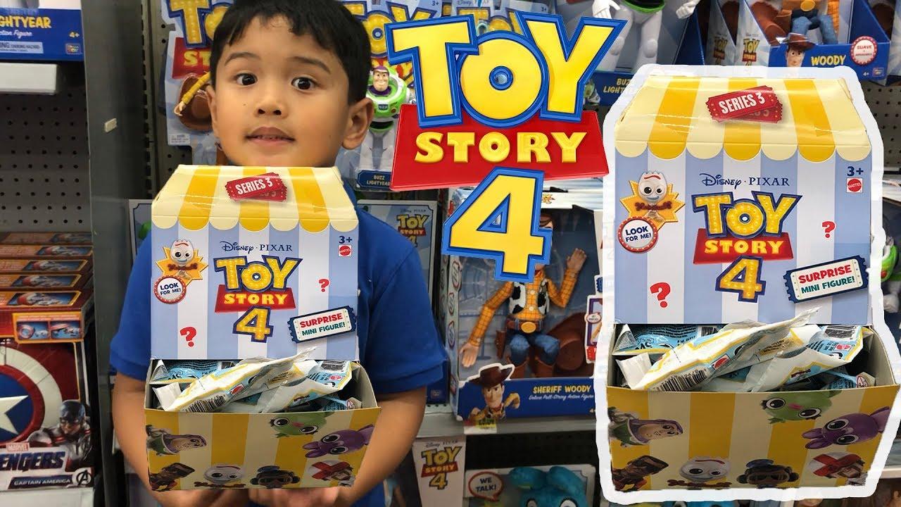 Disney Toy Story 4 Minis SEALED Blind Bag *REX* DINOSAUR Mini Figure NEW