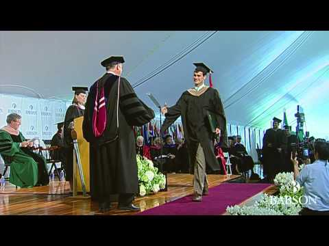 Babson 2014 F.W. Olin Graduate School Of Business Commencement Ceremony