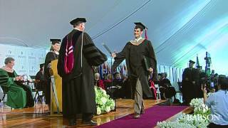 Babson 2014 F.W. Olin Graduate School of Business Commencement Cerem