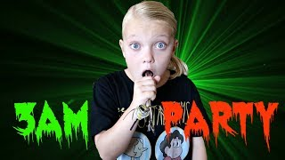 DON'T PARTY AT 3AM!! | HAUNTED PARTY!