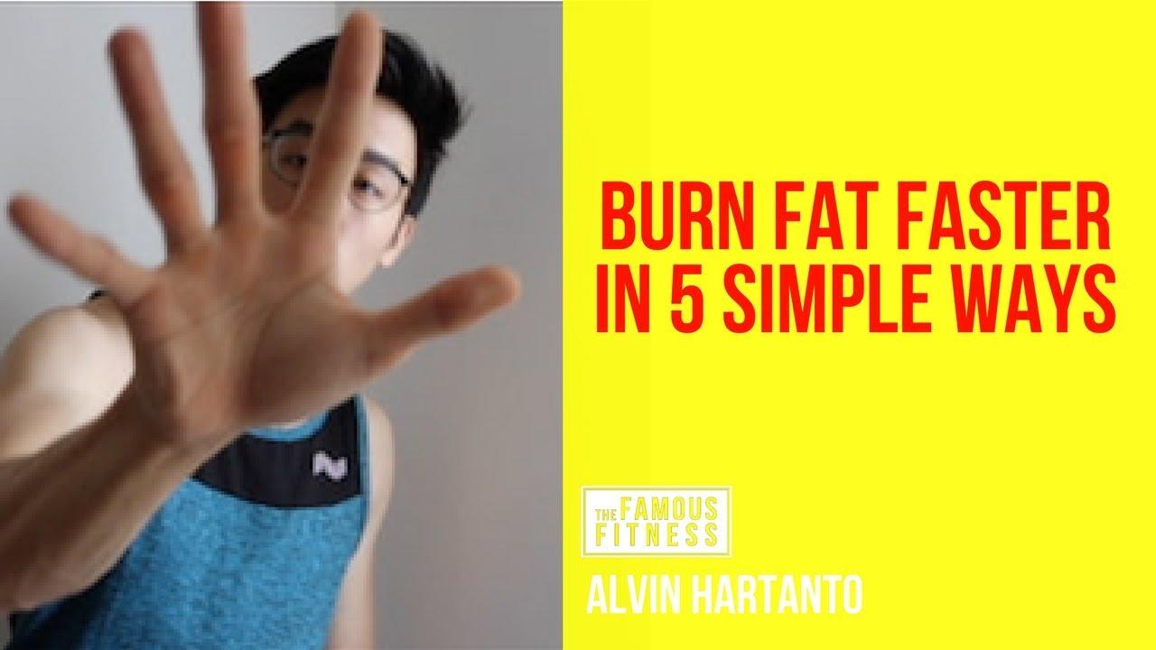5 Cara Membakar Lemak Dengan Cepat Dan Efektif Youtube