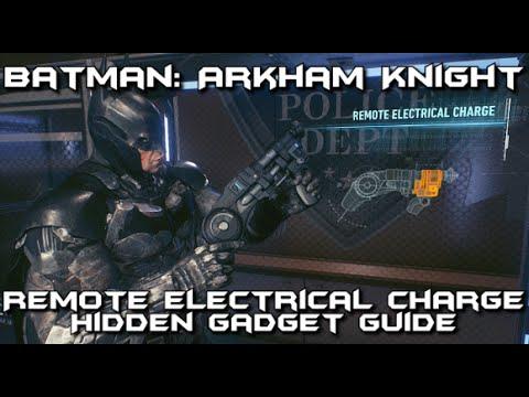Batman Arkham Knight - Remote Electrical Charge Secret Gadget Location Guide