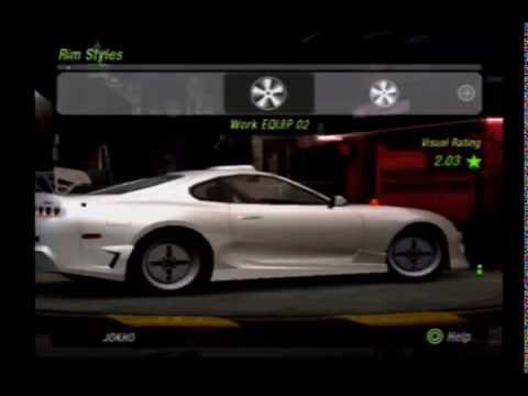 need for speed underground 2 customise ps2 video. Black Bedroom Furniture Sets. Home Design Ideas