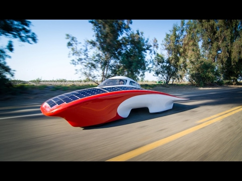 CAR RUNNING ON SUN POWER!