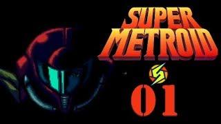SUPER METROID #1 Der letzte Metroid [Blind/Let