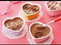 バレンタイン 手作りチョコレシピ 家族チョコ編 可愛い濃厚チョコムース