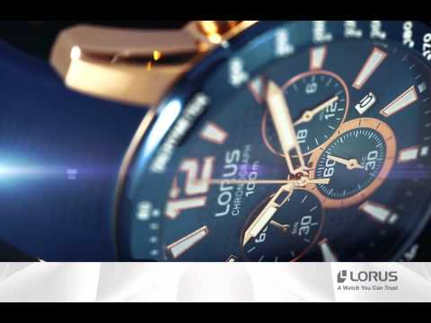 Lorus Video Rt392ex9 Youtube