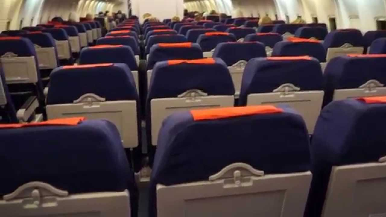 Inside A Boeing 767 300 Er From Euro Atlantic Airways
