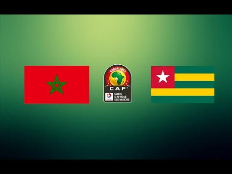 CAN TOTAL 2017 - MAROC VS TOGO ( GROUPE C )
