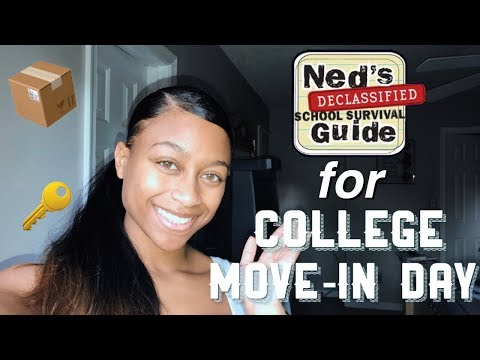 COLLEGE MOVE-IN DAY | What To Expect, Advice, & Tips | Cedes Alexandria