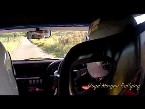 Lloyd Morgan/Vince Mosley Peter Lloyd Stages 2012 SS4 Fastest Stage Time