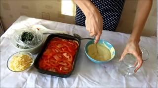 Как приготовить овощной вегетарианский пирог