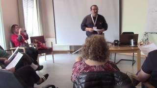 "David Benkof ""Jewish Broadway in 2017"" session at Limmud Germany"