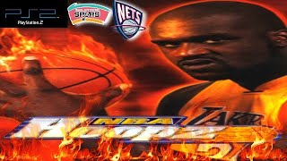 NBA Hoopz PS2 Gameplay - New Jersey Nets @ San Antonio Spurs