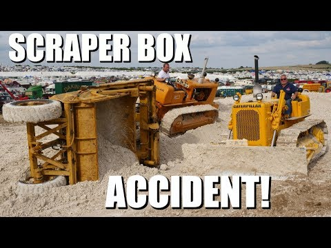 Scraper box accident and recovery