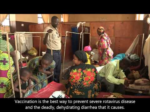 Burundi launches a new vaccine against rotavirus diarrhoea