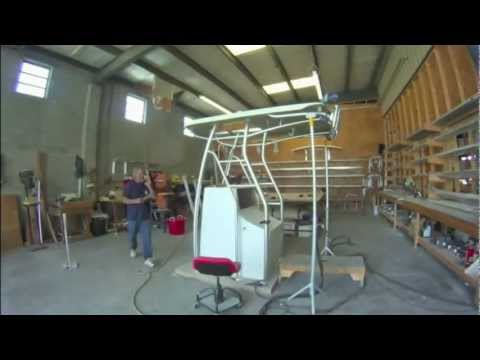 Andros Builds A Dual Station Folding Tower - Iboats.com