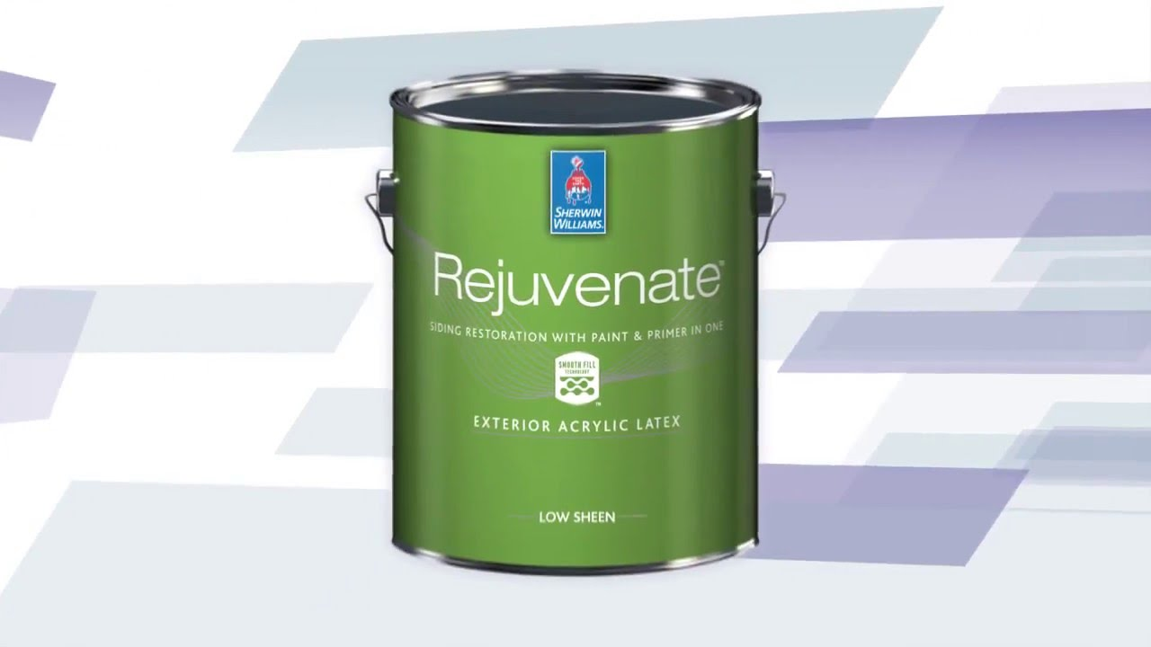 Rejuvenate Exterior Acrylic Coating Sherwin Williams Youtube