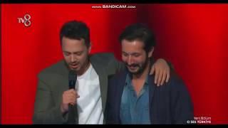 Murat Boz kendini bir anda sahnede buldu  O Ses Türkiye