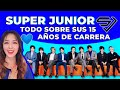 SUPER JUNIOR CELEBRA SUS 15 AÑOS DE CARRERA + THE MELODY + REPERCUSIONES EN COREA