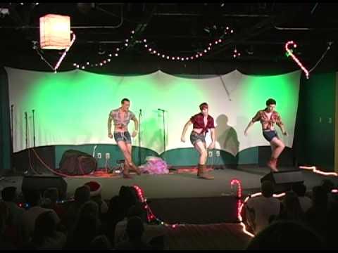 sophomore talent mr christmas tree 2012 pearce young life - Mr Christmas Tree