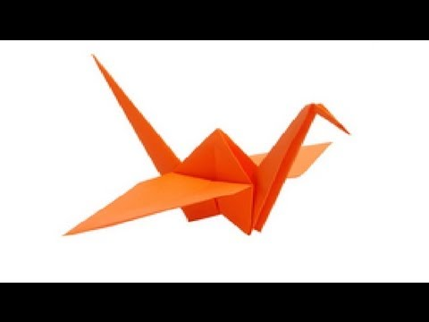 Paper Bird Origami Flapping Bird - Easy Steps