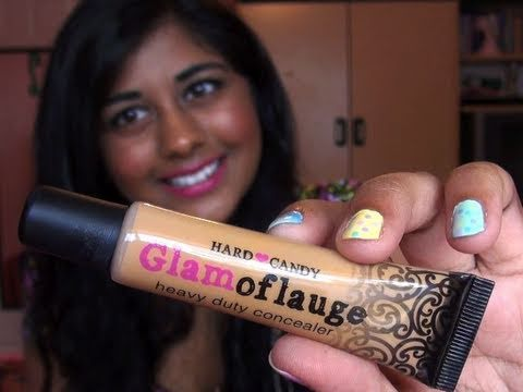 Review- Hard Candy Glamoflauge Concealer! - YouTube