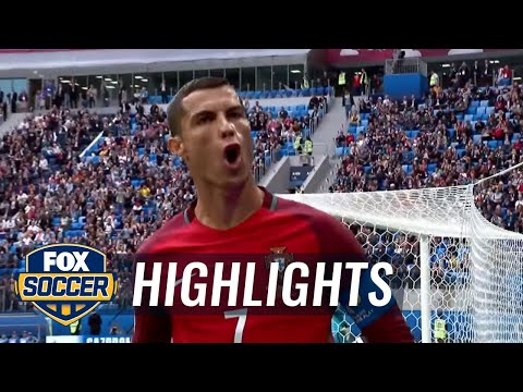 Cristiano Ronaldo converts penalty | 2017 FIFA Confederations Cup Highlights