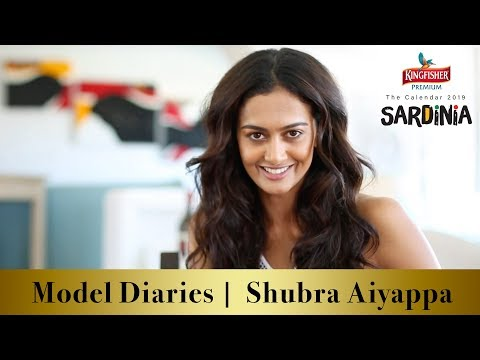 Model Diaries | Shubra Aiyappa |  Kingfisher Calendar 2019