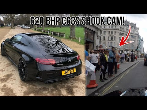 *SHOOK CAM* 620 BHP C63s MERCEDES AMG SCARING PEOPLE IN PUBLIC!!