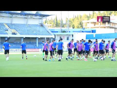Armenian National Team's Training Session in Podgorica