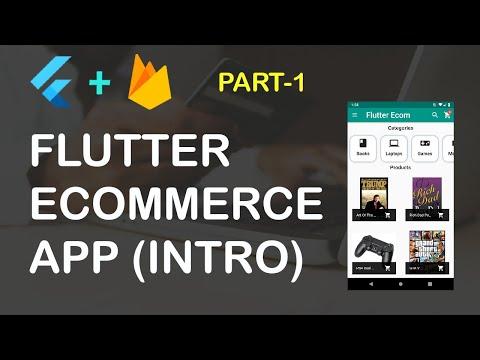 Flutter Ecommerce App Part 1 (Project Intro)