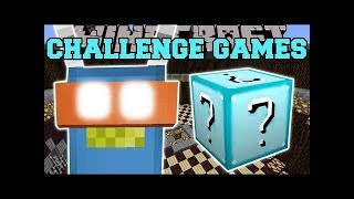popularmmos Minecraft ROBOT TED CHALLENGE GAMES   Lucky Block Mod   Modded Mini Game