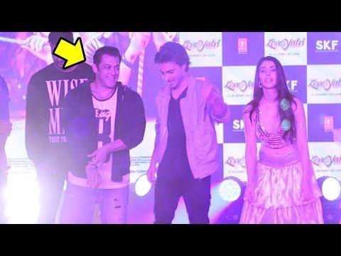 Salman Khan's AMAZING Chogada Tara Dance With Ayyush Sharma & Warina Hussain Loveratri