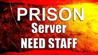 Minecraft OP Prison and Faction server Need Staff