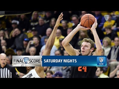 Oregon State Beavers - Beaver comeback stuns Buffaloes. Huge 76-68 road win for Oregon State!
