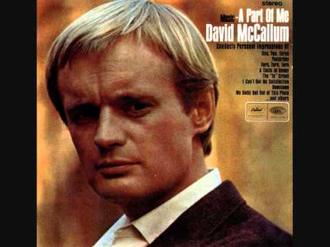 David McCallum  A Taste Of Honey