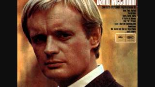 David McCallum - A Taste Of Honey